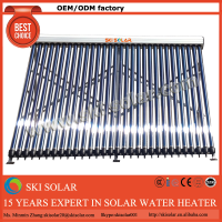 plastic swimming pool solar water heater collectors