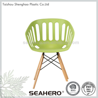 Hot sale modern plastic chair import furniture from china