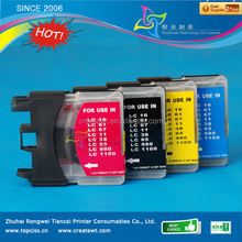 long version compatible ink cartridge for brother b lc11 16 38 61 65 67 980 990 1100