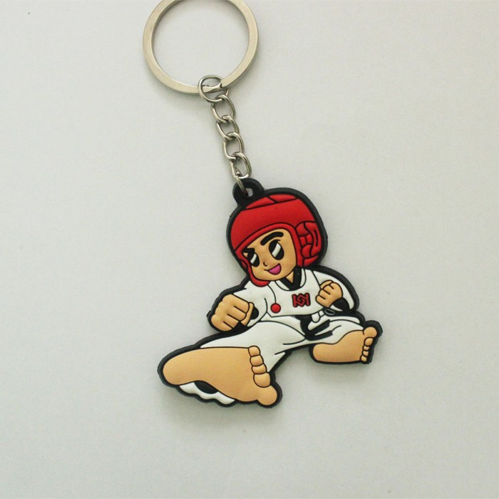 manufacturers in china taekwondo key chain llaveros taekwondo