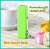 Wholesale price promotion gift power bank 1200mah mobile perfume power bank