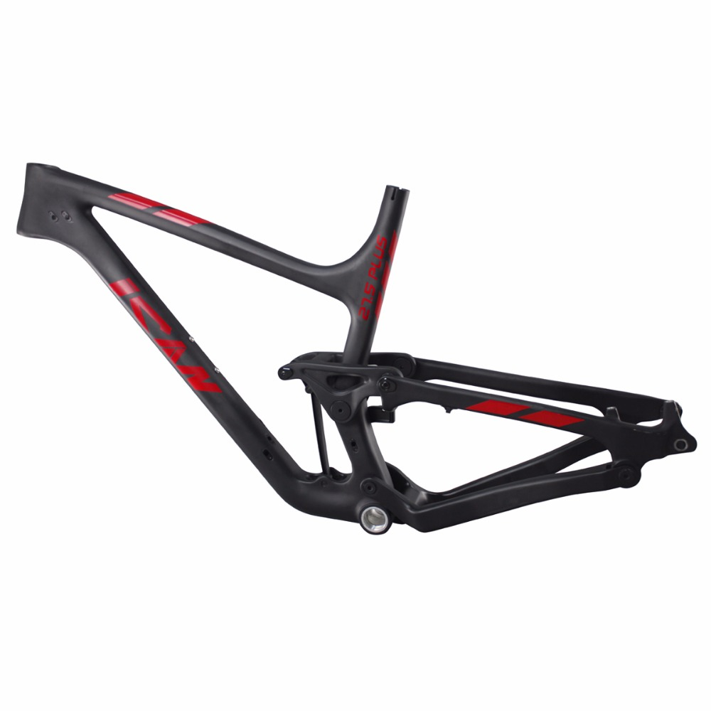 650b+ P8 Carbon Mountain Bike Frame Full Suspension Mtb Frames 27.5 ...