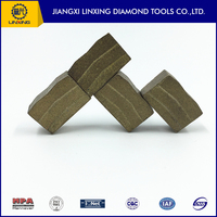 Professional Diamond Marble Cutting Tools Part of Segment for Marble