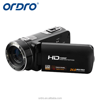 ORDRO Z80 super hd camera 10x optical zoom DV digital camera1080P wifi camera