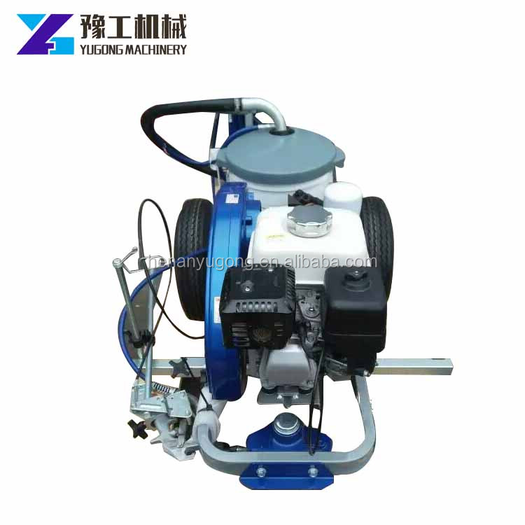 TATU brand Cold paint / water solvent high pressure ailess spraying road striping machine /road marking paint