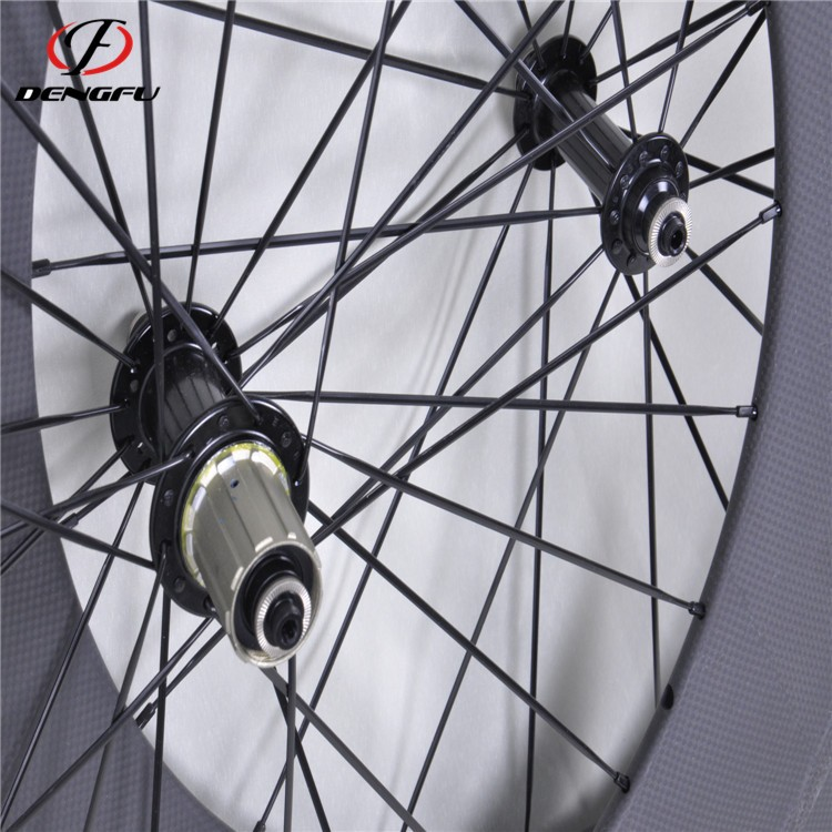DengFu road bike carbon wheels 700c 88mm depth carbon road wheels