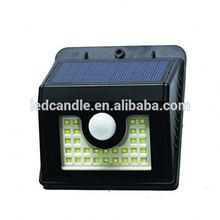 low price high quality wireless outdoor solar motion sensor light