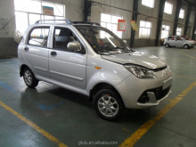 4-wheel electric car with 4 seats for passenger/Cheap four electric vehicles made in Lichi brand