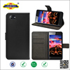 Leather Flip Cover Case For Micromax