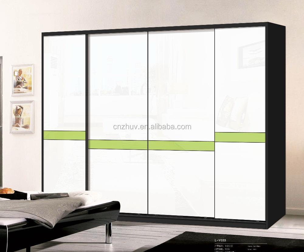 Built In Aluminium Profile Closet Glass Sliding Wardrobe Door Buy