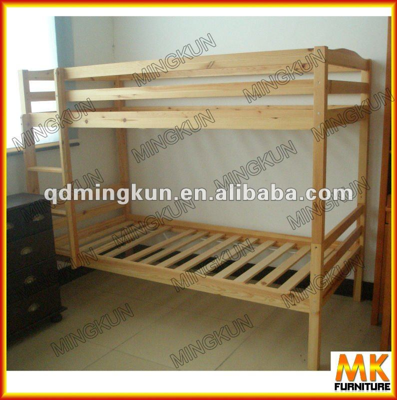 Cama litera para ni os de madera camas identificaci n del - Camas literas para ninos ...