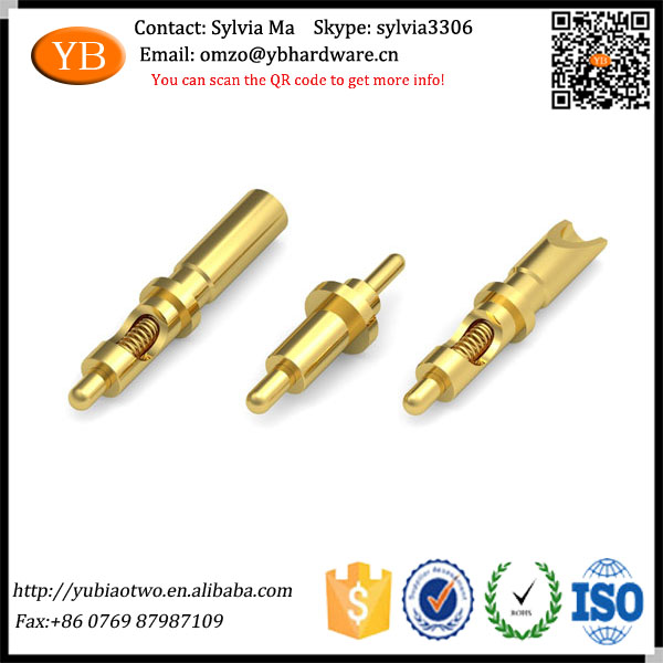 Guangdong Custom Spring Loaded Brass Pogo Pin with Factory Price