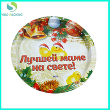 food safe accept custom order metal tin tray factory cheap price