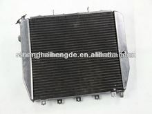 "Full aluminum radiator (1""Tubes) 2 Row For Chevy Impala 1969-1970 water heating radiator"