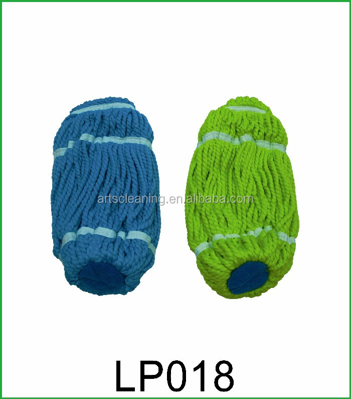 Supply Cheap Magic Cleaning Mop Head Sample Available Microfiber Yarn Mop Pad