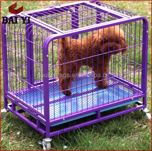 Large Squar Tube Dog Cage With Wheels For Sale Cheap (Made In China, Manufacturer)