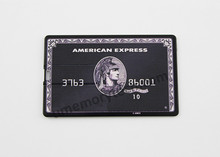 Bulk Cheap American Express credit card usb flash drive 4gb,real 8gb card usb pen drive, plastic usb stick