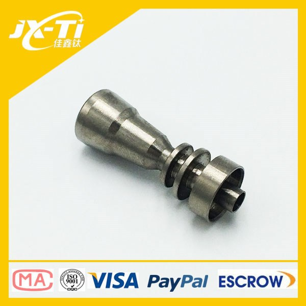 Grade 2 titanium domeless nail, electric smoking pipe