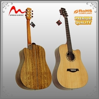 OEM manufacture unfinished acoustic guitar kits for foreign trade