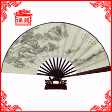 Wholesale personalized cloth fabric folding fans GYS217-1