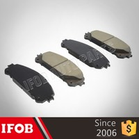 ifob auto parts brake pads oem 04465-0E020 for toyota HIGHLANDER 2GRFE brake pads