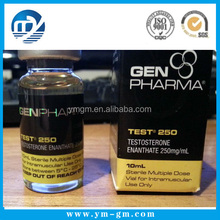 Custom printed 10ml 20ml 30ml hologram pharmaceutical vial labels for testosterone enanthate