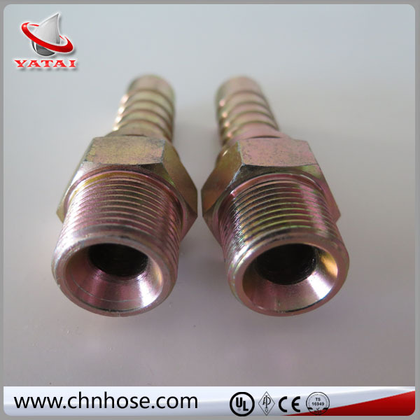 Flexible hose grooved pipe coupling clamp
