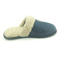 Cheap Quality plush indoor home slipper soft sole men's winter warm indoor slippers