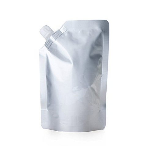 Free sample reusable liquid food spout packaging pouch bag