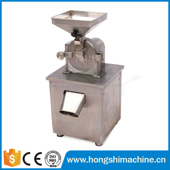 Stainless steel low cost high efficient chilli pepper grinder machine