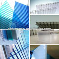 greenhouse glass sheet and polycarbonate plastic board/pc hollow sheets from zhejiang