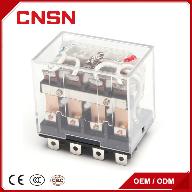 LY4 12v 220v widely used miniature electromagnetic relay, air conditioner relay, time delay relay