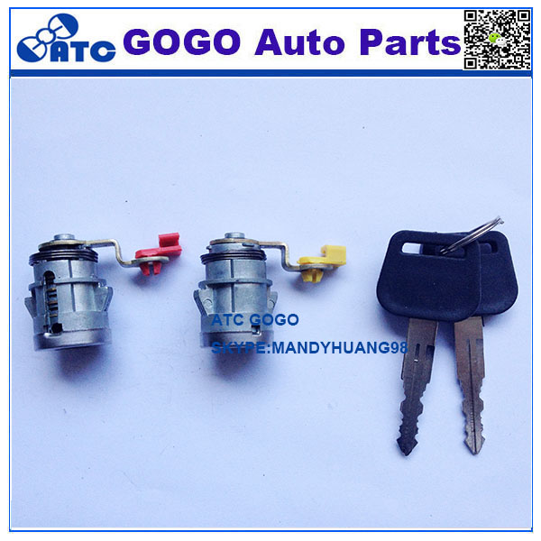 High quality car door lock cylinder with key FOR I S <strong>U</strong> Z <strong>U</strong>