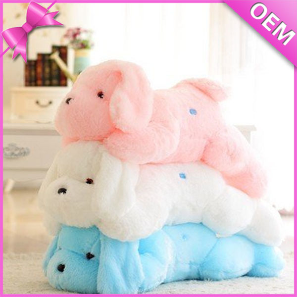 40cm Long in lying Soft Dog Design Light Up Plush Toys, Animal Plush Night Light Toys, Animated Electronic Plush Toys