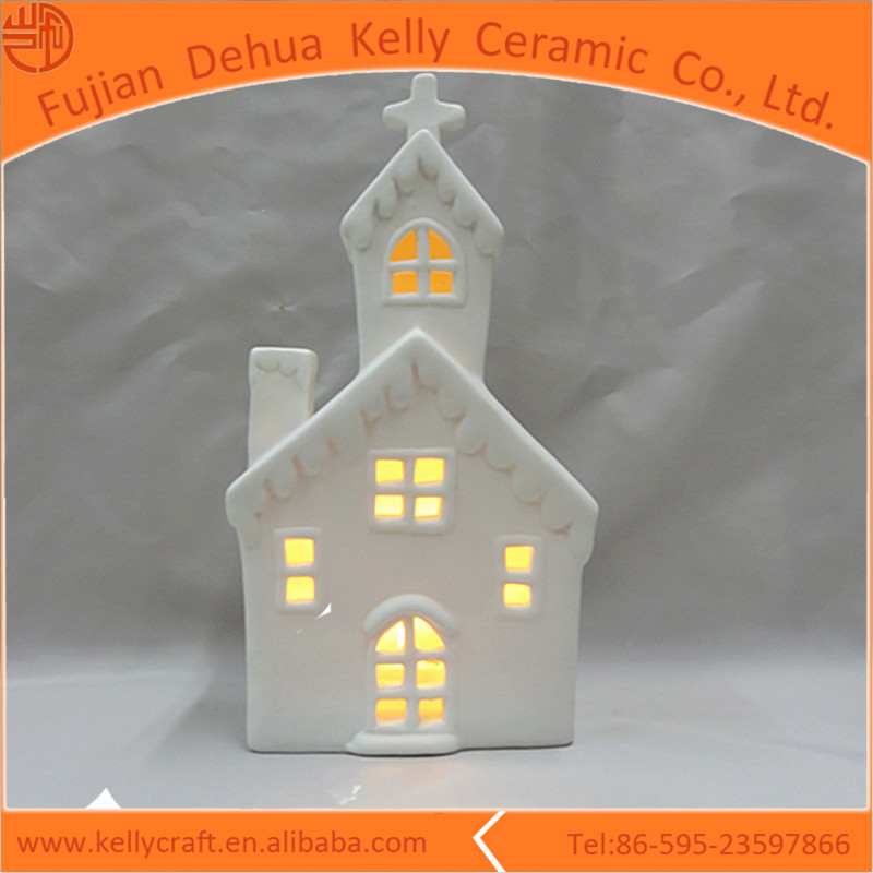 House design led glow in the dark garden ornament