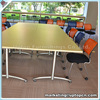 (SP-CS299) Training space saving folding conference table with wheel