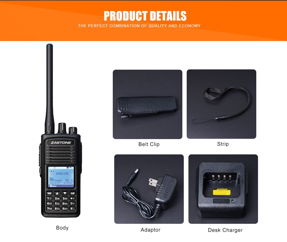 Compatible with MOTOTRBO/HYTRA new launch DMR digital handheld radio ZASTONE D900 UHF400-480MHz DMR digial two way radio