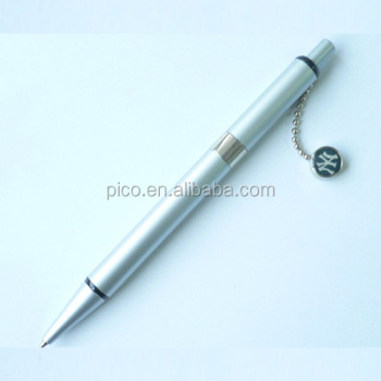 Unique Design Metal Ballpoint Pen With Magnetic Stamp Logo For Promotion