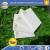 Hard gloss form 1mm pvc board for print industry