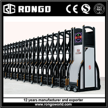 electric automatic retractable folding gate