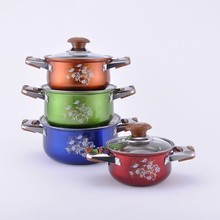 Best selling 4pcs/8pcs stainless steel induction decorative cookware set