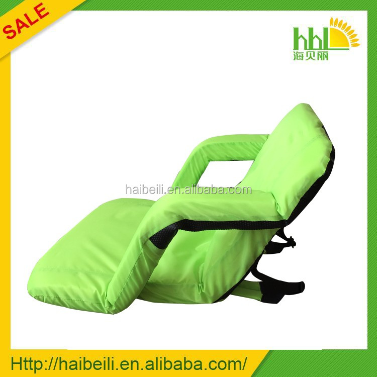 no legs folding easy chair cloth folding chair