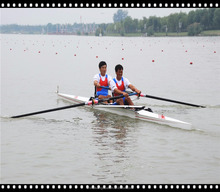 light weight racing shell/rowing scull 2-