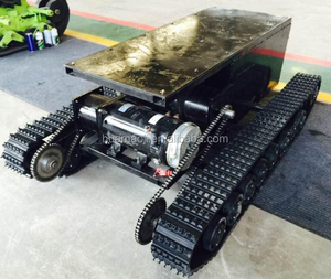 competitive price Robot Platform 4WD tank robot Chassis