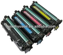 high yield color toner cartridge CE250A series for HP CP3525N,CM3530MFP,CM3530fs printers