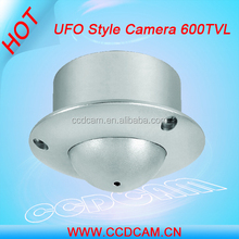 EC-H6094 w/3.7mm pinhole lens SONY CCD,600TVL cctv UFO Style vandalproof Security Camera