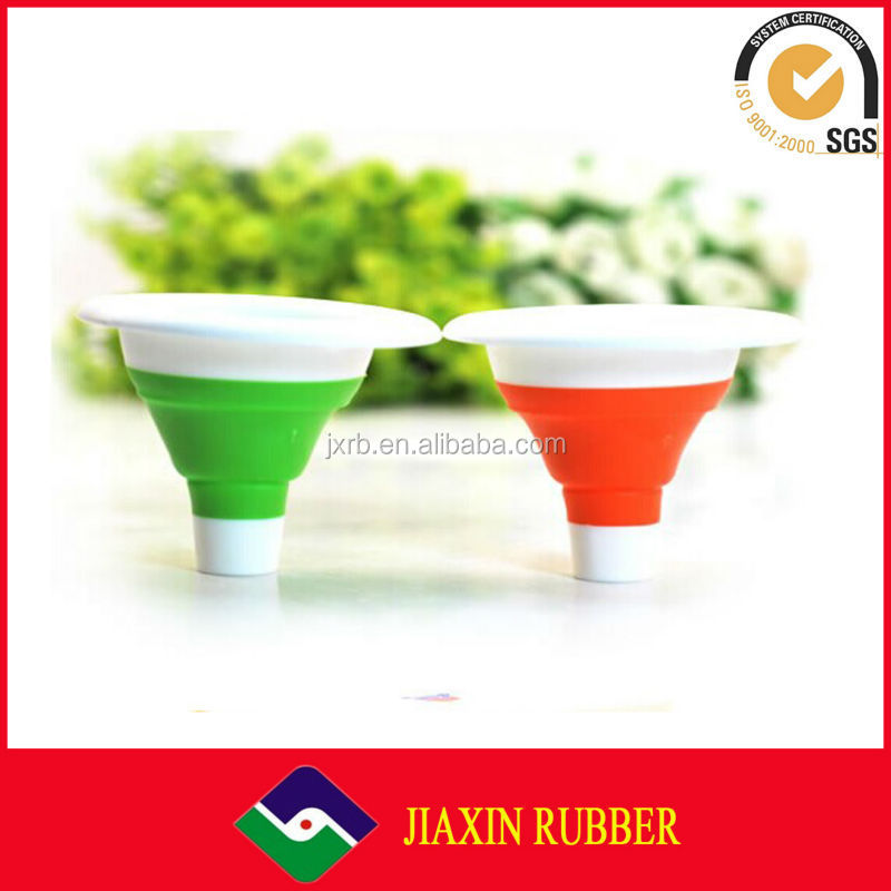 New arrival durable silicone collapsible funnel foldable funnel for liquid transfer