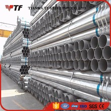 Trade Assurance High quality carbon schedule 80 hot dipped galvanized steel pipe