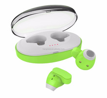 Waterproof earphones sports earphones bluetooth waterproof ,true wireless bluetooth earphones with charging box for mobile phone