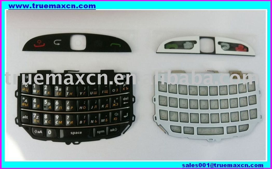 9800 Russian Keypad for blackberry 9800(Black),Original